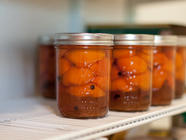 Honey Spiced Apricots
